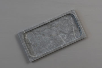 Bathroom Tray Grey
