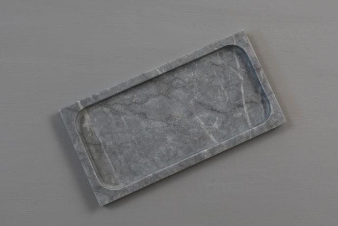 Bathroom Tray Grey