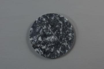 Black Circle Marble
