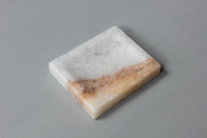 Rainbow Soap Holder marble