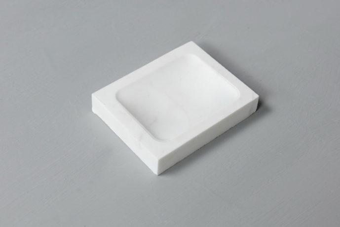 White Soap Holder marble