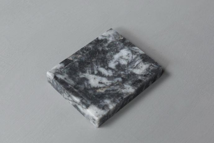 Black N' White Soap Holder