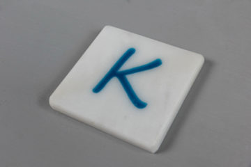resin coaster marble