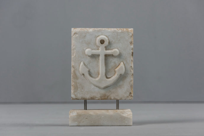 Anchor marble art