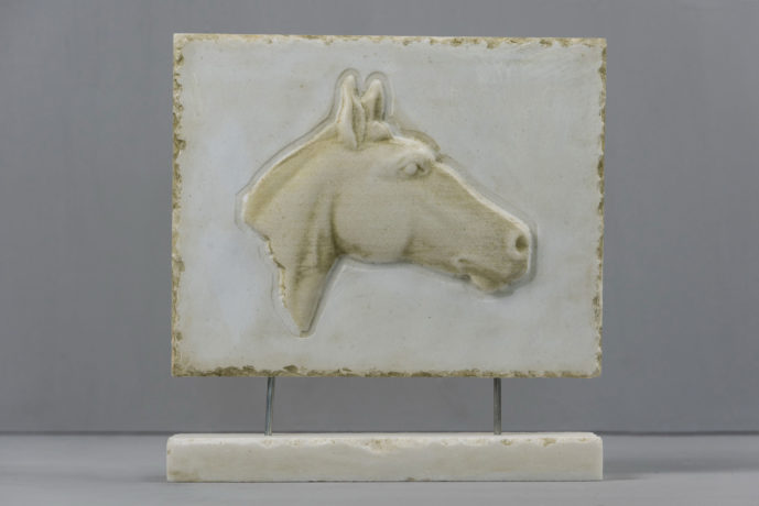 Horse marble