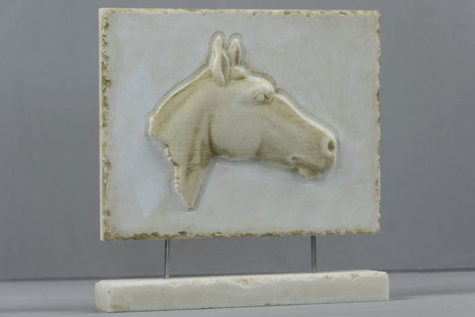 Horse marble 3